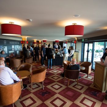 guests inside the oak lounge