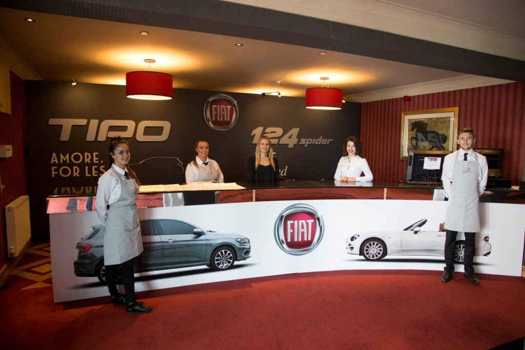 fiat launch party