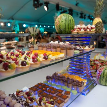 desserts selection