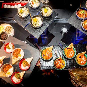 indian bowl food selection