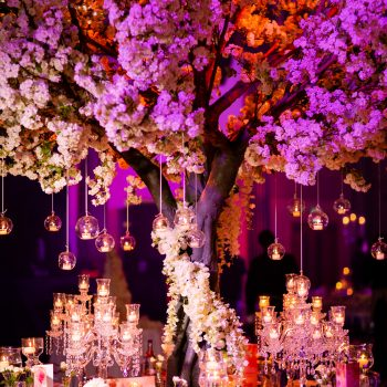flower tree table centrepiece