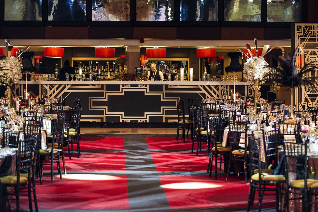 Great Gatsby Christmas Bar